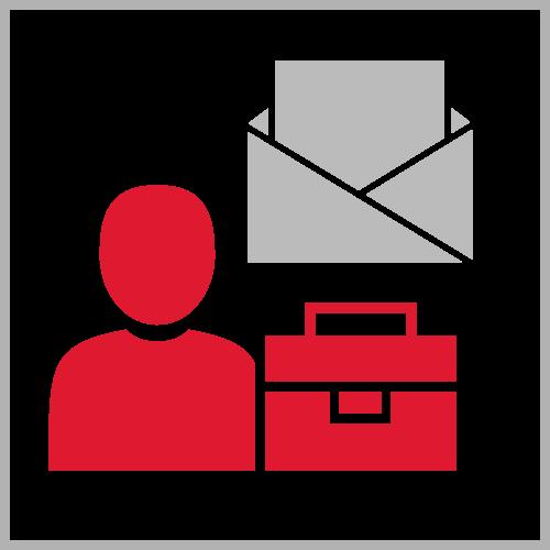 Icona per pagina Fornitori - Invia presentazione